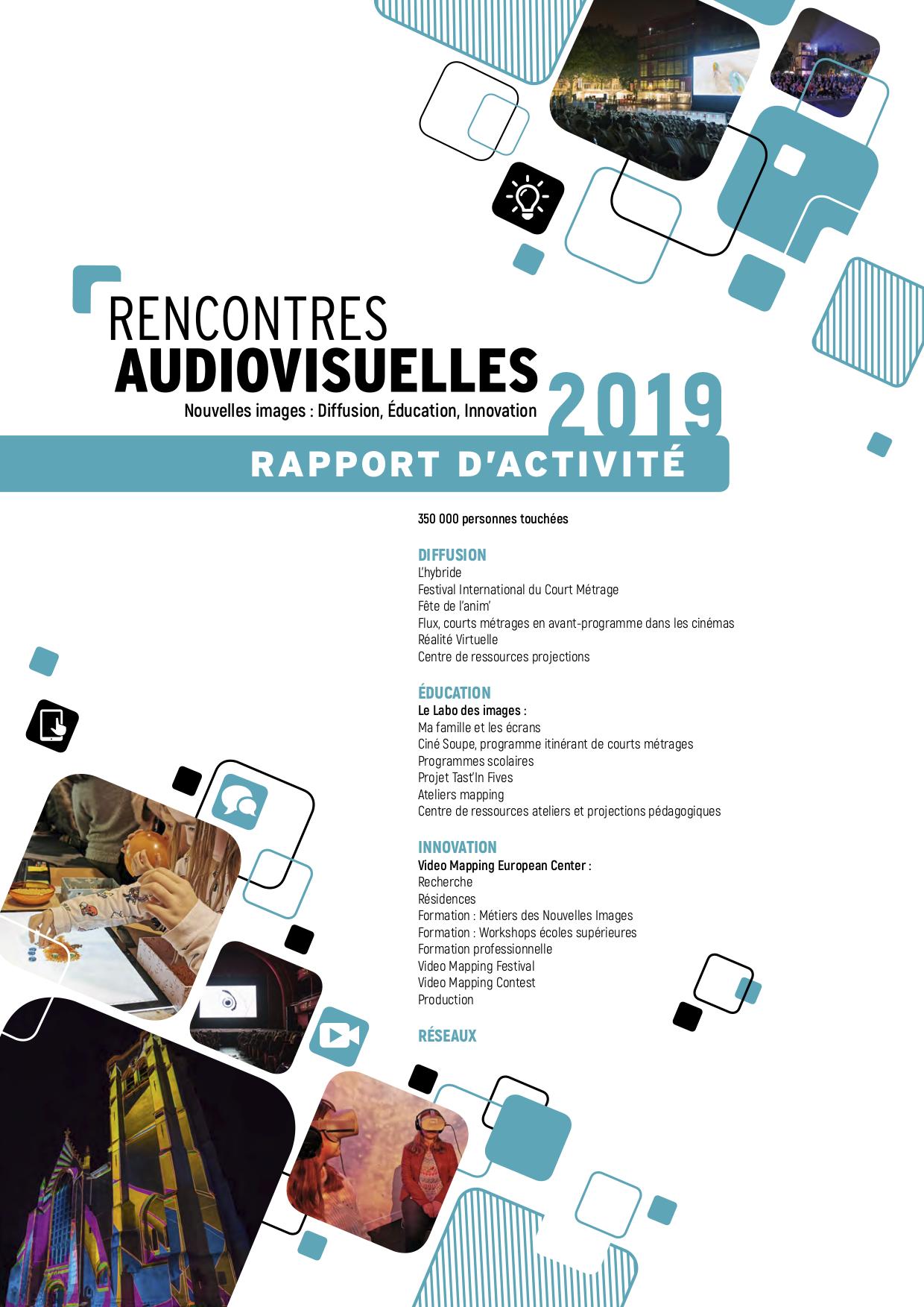 Rapport d'activité Rencontres Audiovisuelles Lille