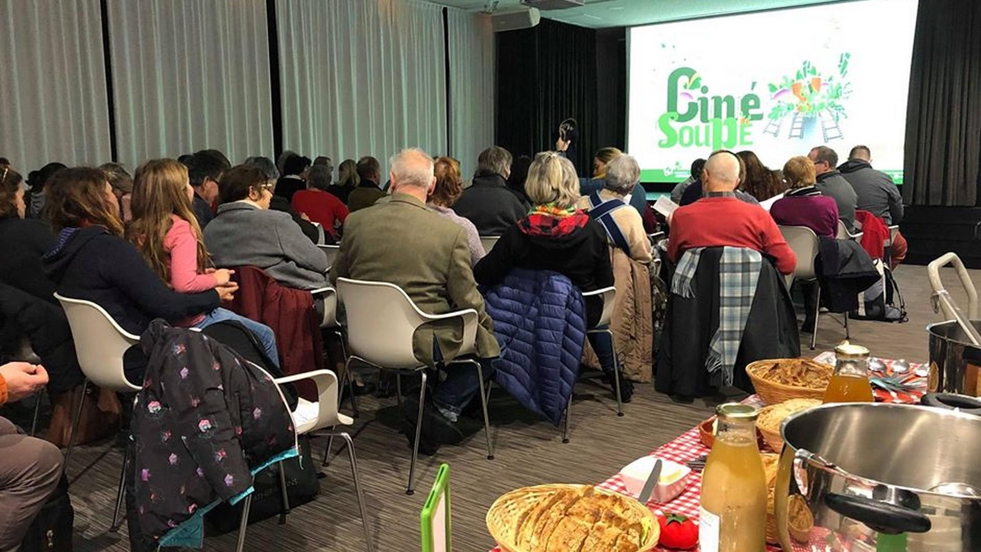 Ciné Soupe Rencontres Audiovisuelles Lille