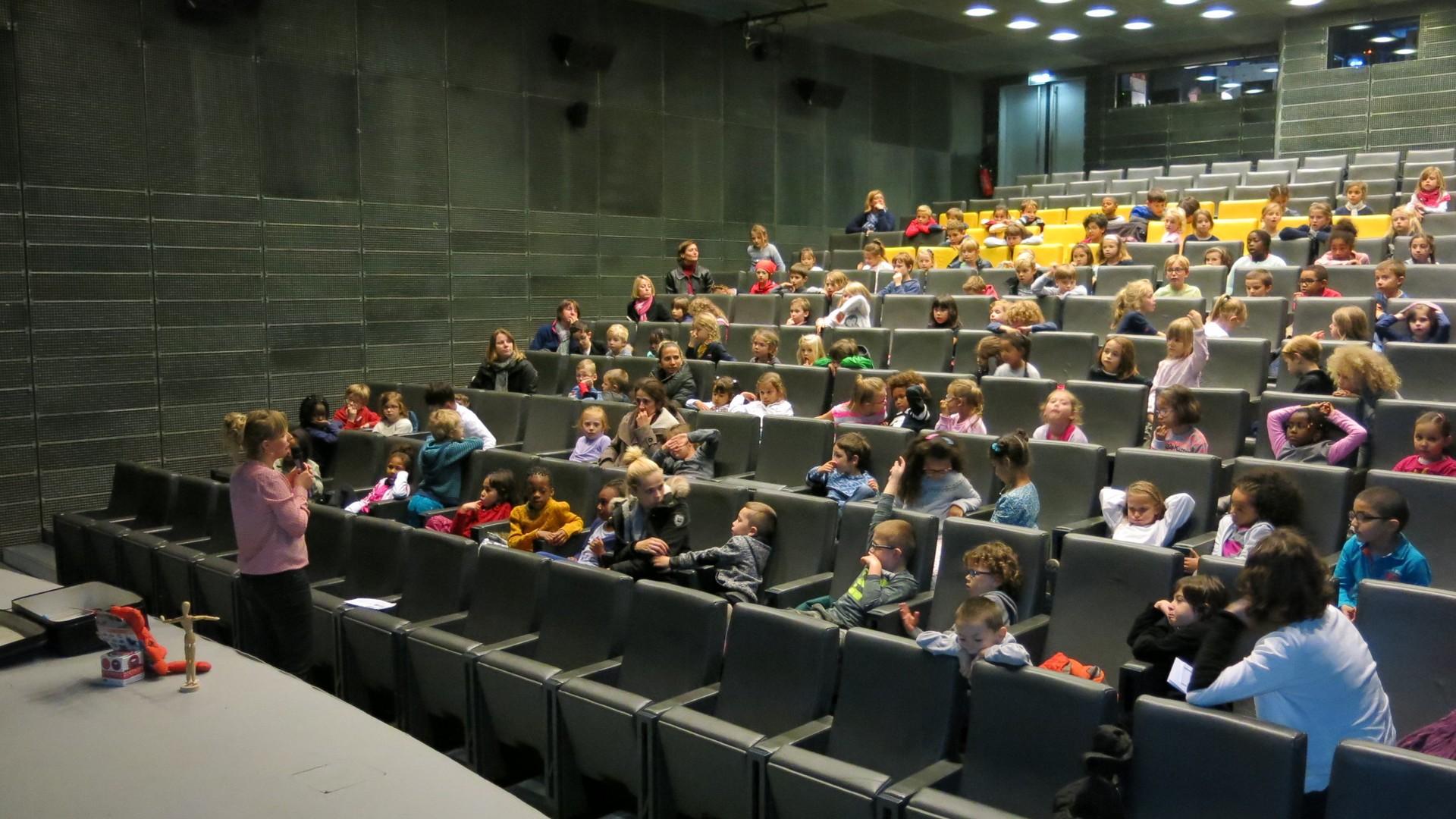 Projections scolaires Rencontres Audiovisuelles Lille