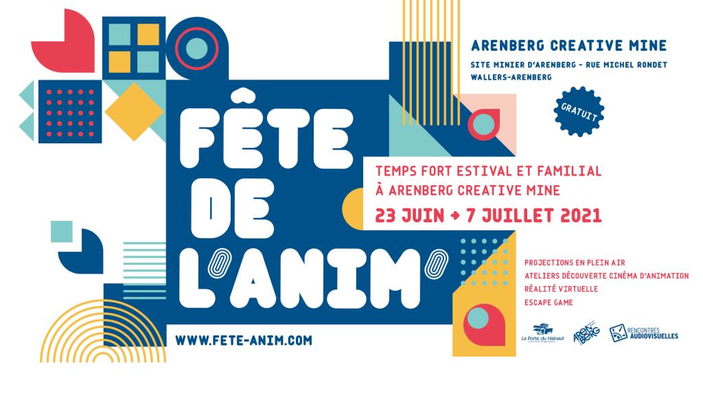 FÊTE DE L'ANIM' : Temps fort estival et familial à Arenberg Creative Mine !